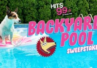 Hits 99.9 Canine Craze Backyard Pool Sweepstakes