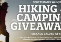 Sportsmans Warehouse Hiking And Camping Gear Giveaway