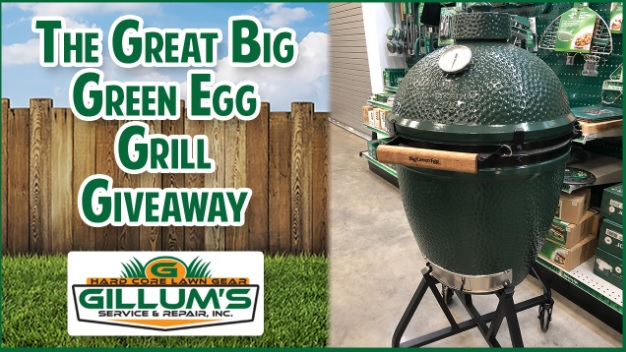 B97 FM Great Big Green Egg Grill Giveaway