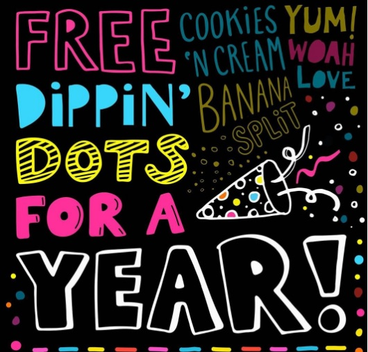 Dippin Dots National Ice Cream Day Sweepstakes