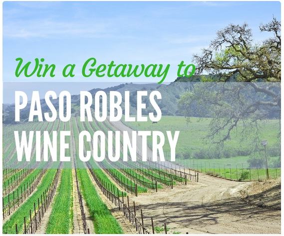 Dream Vacation To Paso Robles Sweepstakes