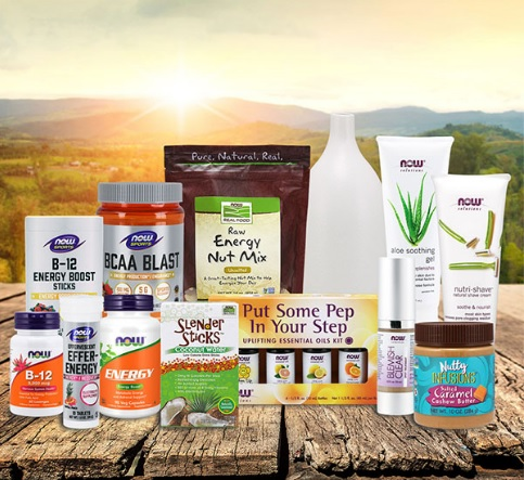 Now Foods Summer Energy Sweepstakes