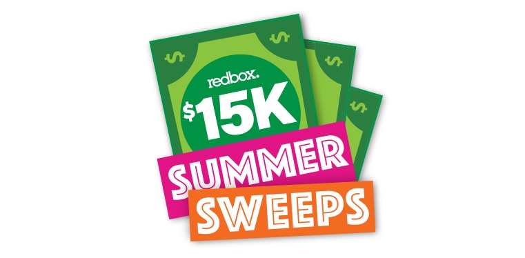 Redbox $15K Summer Sweepstakes