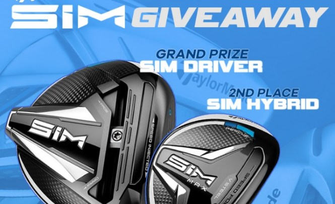 Rock Bottom Golf Taylormade Sim Giveaway