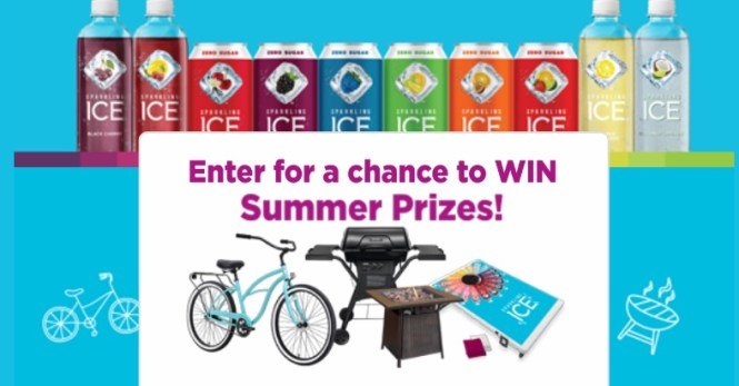 Sparkling Ice Chill Spin To Win Game Sweepstakes