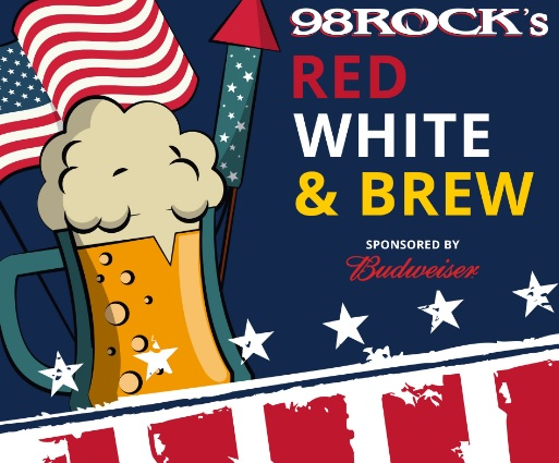 WXTB 98ROCKs Red White And Brew Sweepstakes