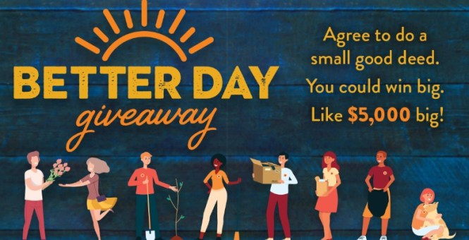 Covington Credit A Better Day Giveaway