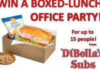 Dibellas Win A Boxed-Lunch Office Party Contest