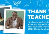 Lifetouch Thank You Teachers Contest