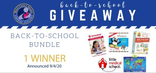 Mom Choice Awards Back to School Giveaway