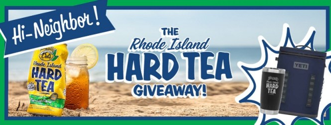 Rhode Island Hard Tea Tumber And Cooler Giveaway