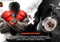 Street Fighter V SteelSeries Summer 2020 Giveaway