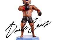 Derrick Lewis Autographed Bobblehead Giveaway