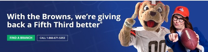 Fifth Third Bank 53 Yard Drive Sweepstakes
