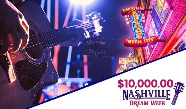 PCH.com Nashville Dream Week Sweepstakes