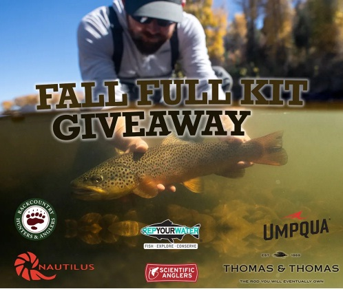 RepYourWater And Partners Rep Your Water, Fly Fishing Bundle Sweepstakes