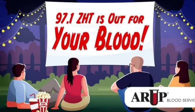 97.1 ZHT Is Out For Your Blood Sweepstakes