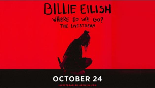 Billie Eilish Where Do We Go Livestream Pay-Per-View Sweepstakes