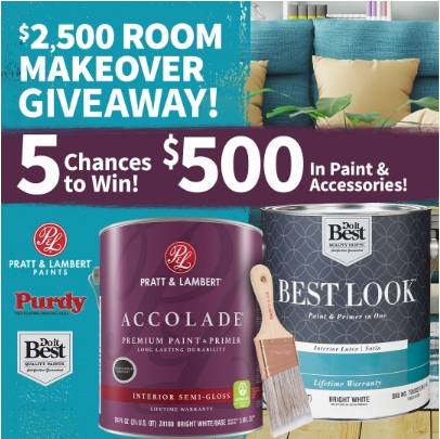 Doitbest $2,500 Room Makeover Giveaway
