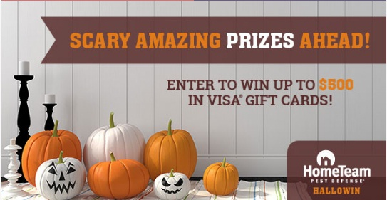 HomeTeam Pest Defense Pest Defense HalloWin Contest And Sweepstakes