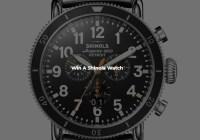 Rotary Digital Shinola Watch Giveaway