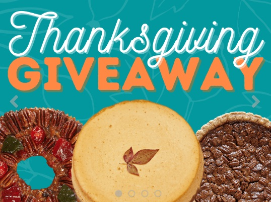 Collin Street Bakery, Thanksgiving Giveaway