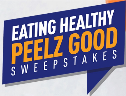 Eating Healthy Peelz Good Instant Win Sweepstakes