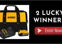 JB Tool Sales JB Tools DeWalt Battery And Charger Giveaway