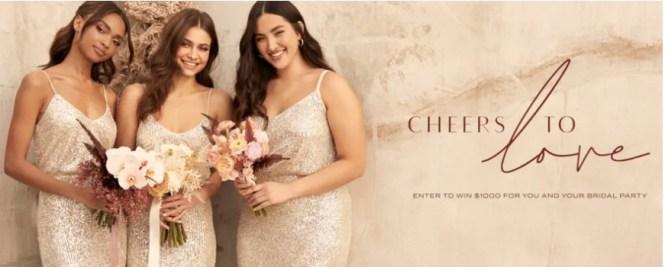 Lulus Fashion Lounge Lulus Wedding Shopping Spree Sweepstakes