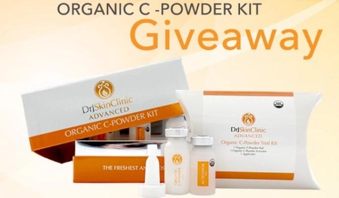 Organic C-Powder Kit Giveaway