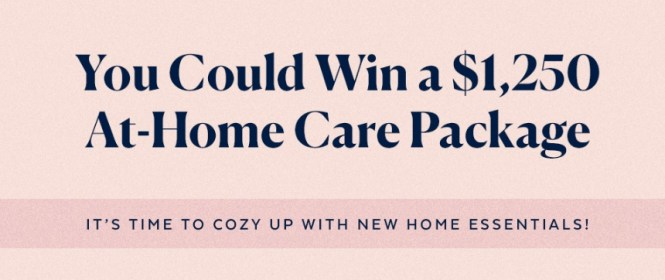 POPSUGAR At-Home Care Package Sweepstakes