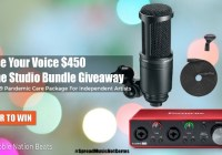 Raise Your Voice Home Studio Bundle Giveaway