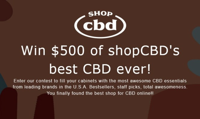 ShopCBD.com ShopCBD $500 CBD Giveaway