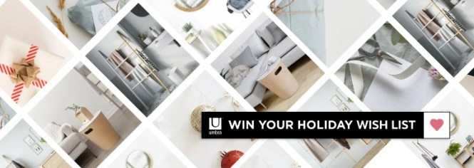 Umbra Win Your Holiday Wish List Contest