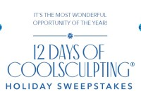 12 Days Of CoolSculpting Holiday Sweepstakes