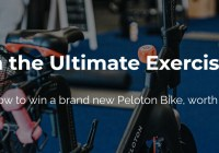 1440 Media Peloton Bike Giveaway