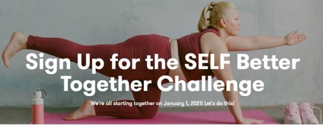 Conde Nast SELF 2021 New Year Challenge Sweepstakes