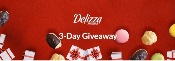 Delizza 3-Day Holiday Giveaway