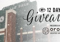 Green Bay Packers 12 Days Of Giveaway