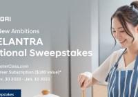 HyundaiUSA ELANTRA Aspirational Sweepstakes