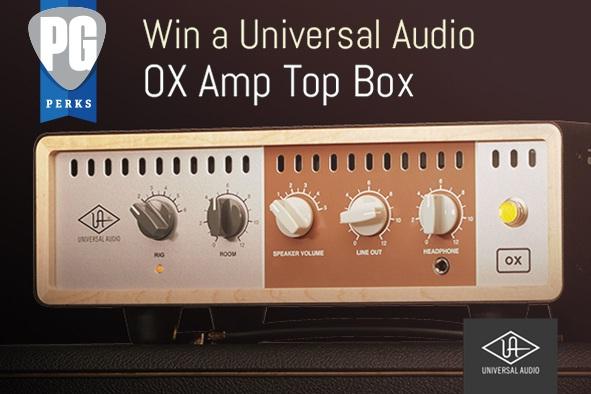 Premier Guitar Universal Audio Ox Amp Top Box Giveaway