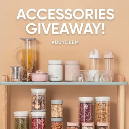 Buydeem, Accessories Giveaway