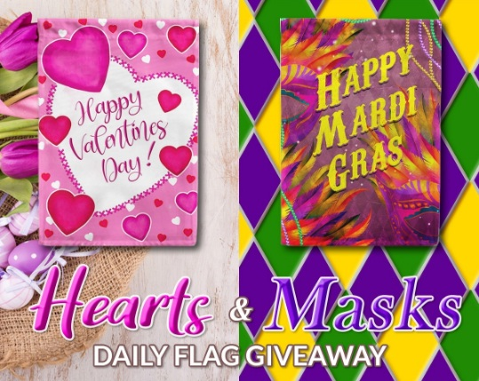 Flags R Us America Forever Hearts And Masks Daily Giveaway