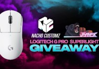 Nacho Customz X Jaypher Logitech G Pro X Superlight Giveaway