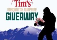 Sasquatch Surprise Giveaway