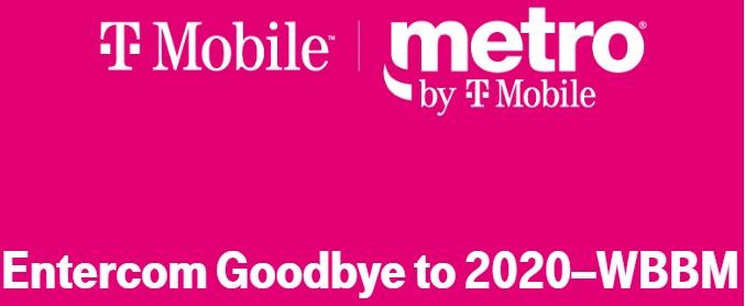T-Mobile USA Metro By T-Mobile Entercom Goodbye To 2020 WBBM Sweepstakes