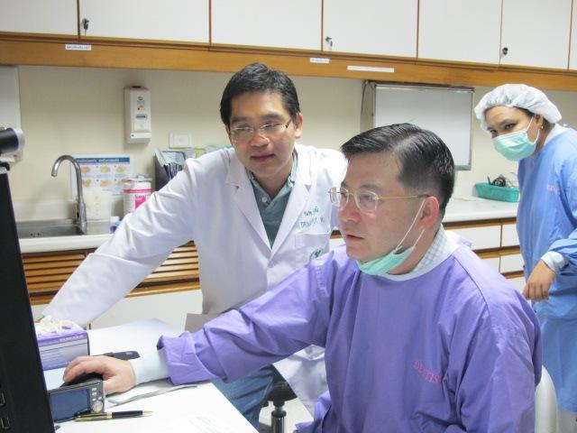 Dr. Nattawut and Dr. Sutichai
