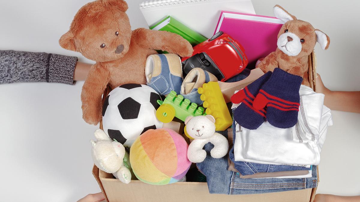 Donate toys