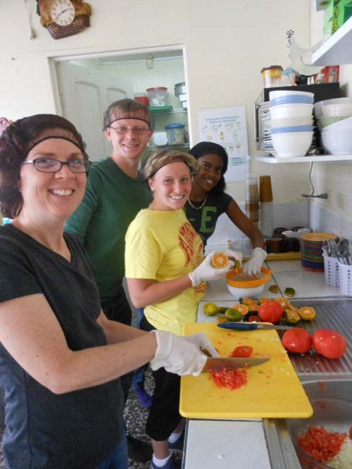 Costa Rica - Cooking lessons at CCS homebase
