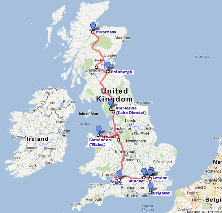 Sixteen Royal Days in the UK GiveLiveExplore The Blog of Matthew